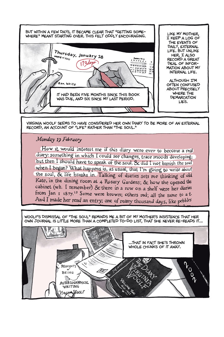Page 17, Chapter 1: Ordinary Devoted Mother from Alison Bechdel's graphic novel Are You My Mother