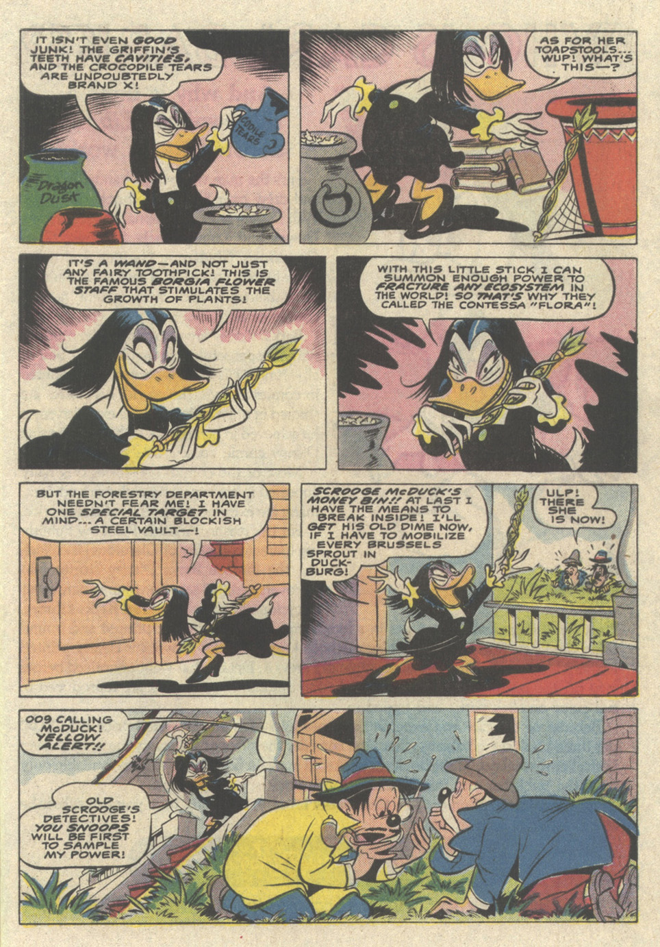 Read online Uncle Scrooge (1953) comic -  Issue #221 - 9