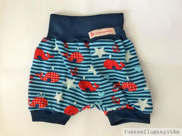 Shorts, Bloomers, Jersey, nähen