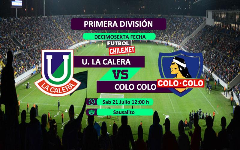 Mira Unión La Calera vs Colo Colo en vivo y online por la Primera División de Chile