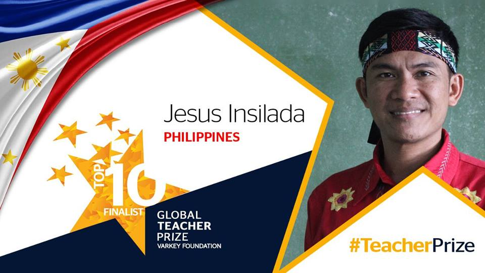 Dr. Jesus Insilada was chosen for his culture-based approach in teaching