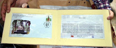 Special postal cover on Rabindranath Tagore