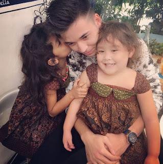 Celine Evangelista Memamerkan Kedekatan Dari Stefan William Bersama Dengan Dua Putri Cantiknya !