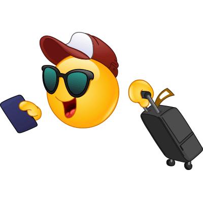 Traveling Emoji