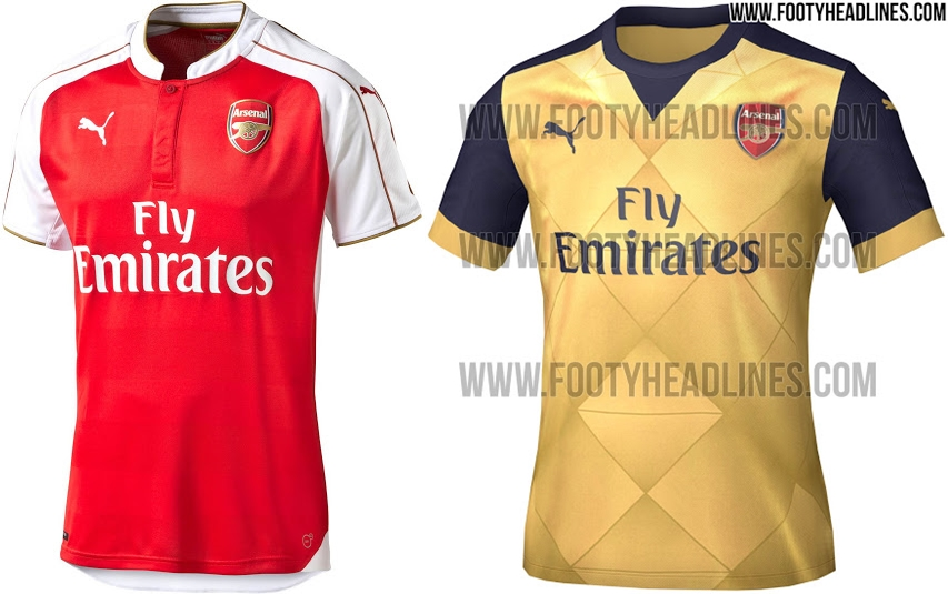 Os uniformes dos principais clubes europeus para temporada 2015 16 ... ba5e7d71a4977