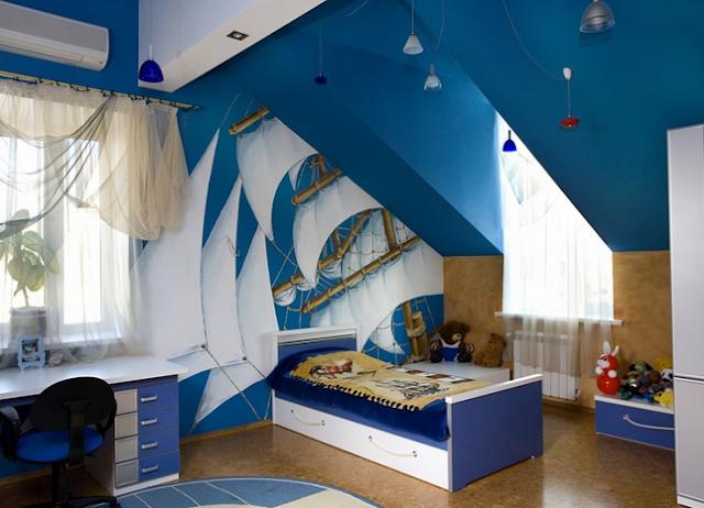 Design Kamar Tidur Anak Minimalis