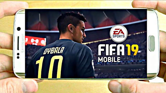 FIFA 19 Mobile Android Offline New Menu Best Graphics Real Faces
