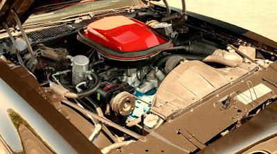 1978 Pontiac Macho Trans Am WS6 Turbo 400 Engine 01