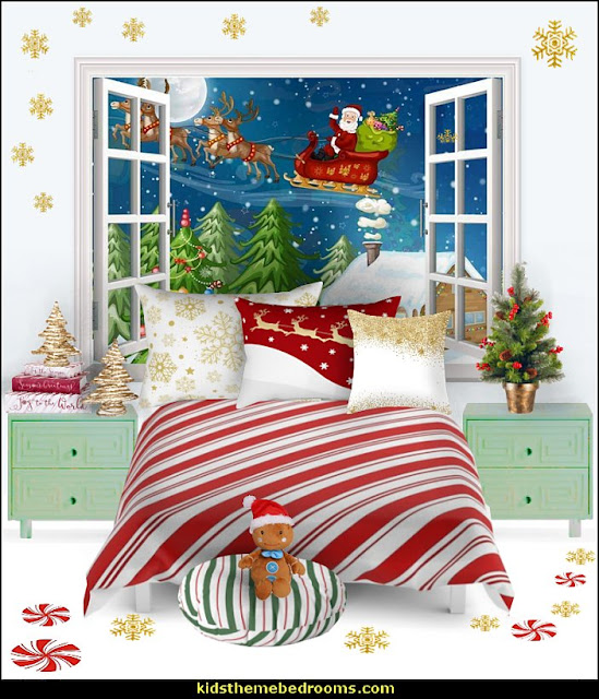 candy cane christmas bedroom decorating   candy Christmas theme decorating - candy themed christmas decorations - christmas candyland decorations -  candy ornaments -  candy shaped holiday ornaments - candy themed Christmas decor -   lollipop candy swirls Throw Pillows - Candy Christmas Tree  - candy stripe Chritmas decor - Candy Cupcake Ornaments