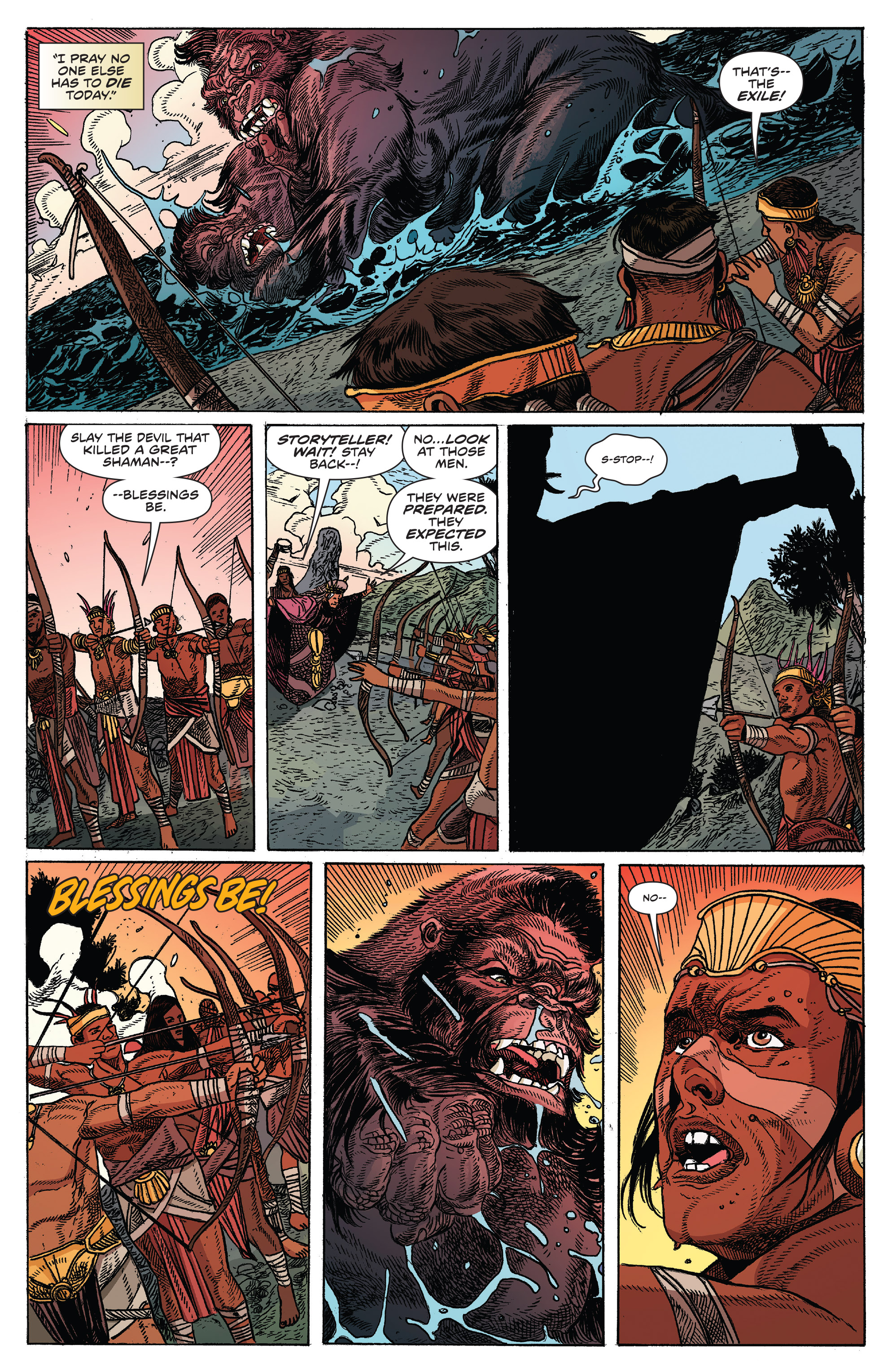 Read online Kong Of Skull Island comic -  Issue #12 - 17