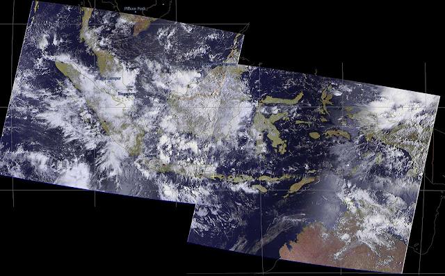 Meteor M2 over Indonesia