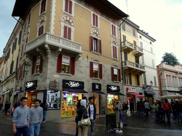 Street scenes Parma, Italy
