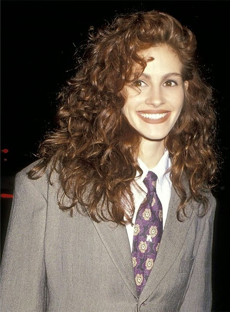 FlyGirl: Curly Hair Inspiration: Julia Roberts