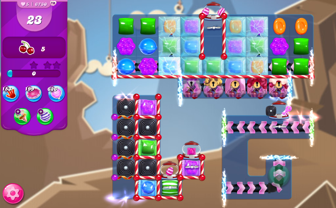 Candy Crush Saga level 6730