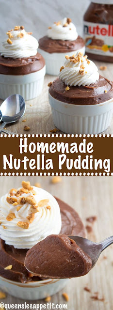 Homemade Nutella Pudding