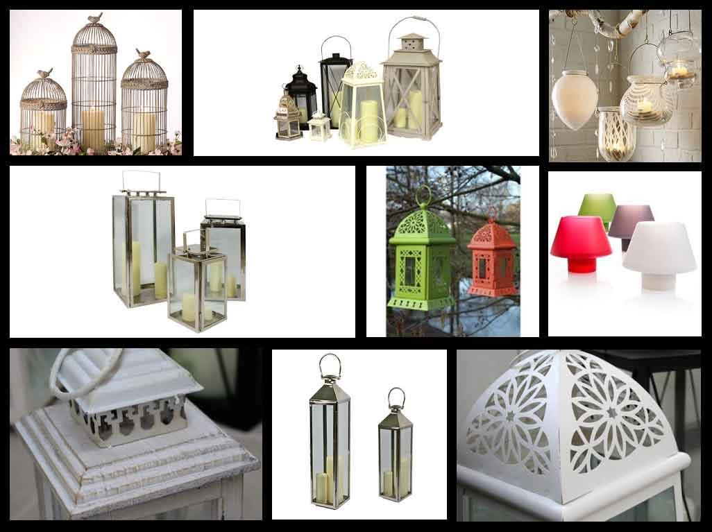 Work in progress lanterne da giardino for Lanterne bianche