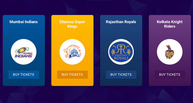ipl tickets bookmyshow