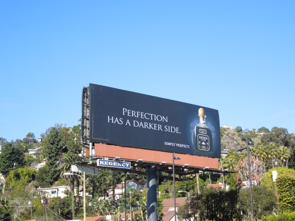 Patron XO Cafe coffee liqueur billboard