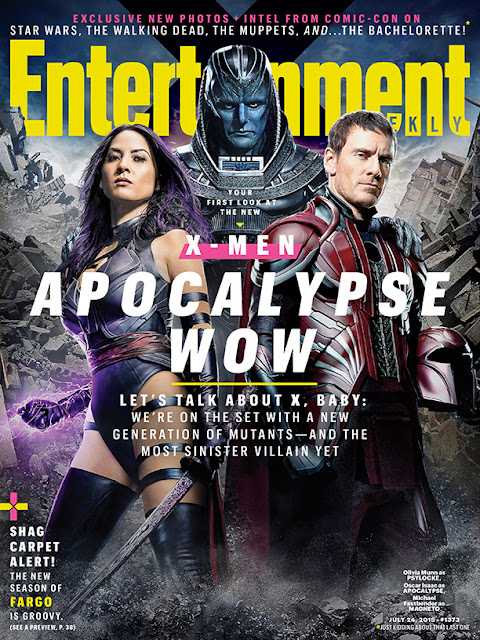 Actress, Model, @ Olivia Munn - X-Men: Apocalypse Posters, Promos & Stills