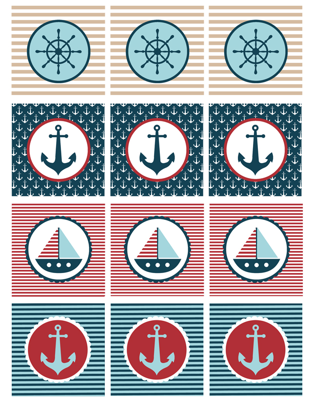 Nautical Baby Shower Printables My Sister S Suitcase Packed With
