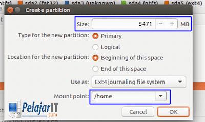 Install Ubuntu Dual Boot Windows
