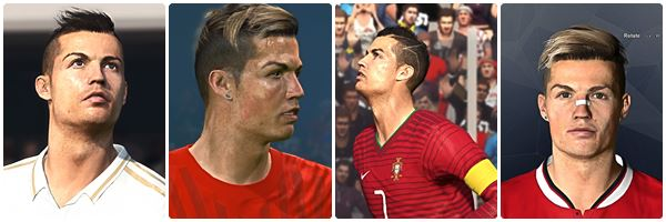 PES 2017 CR7 Face Collection by Lucky Renaldi