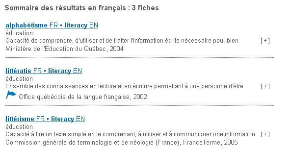 Linguistiquement correct la multiplication des fiches et - Dictionnaire office de la langue francaise ...