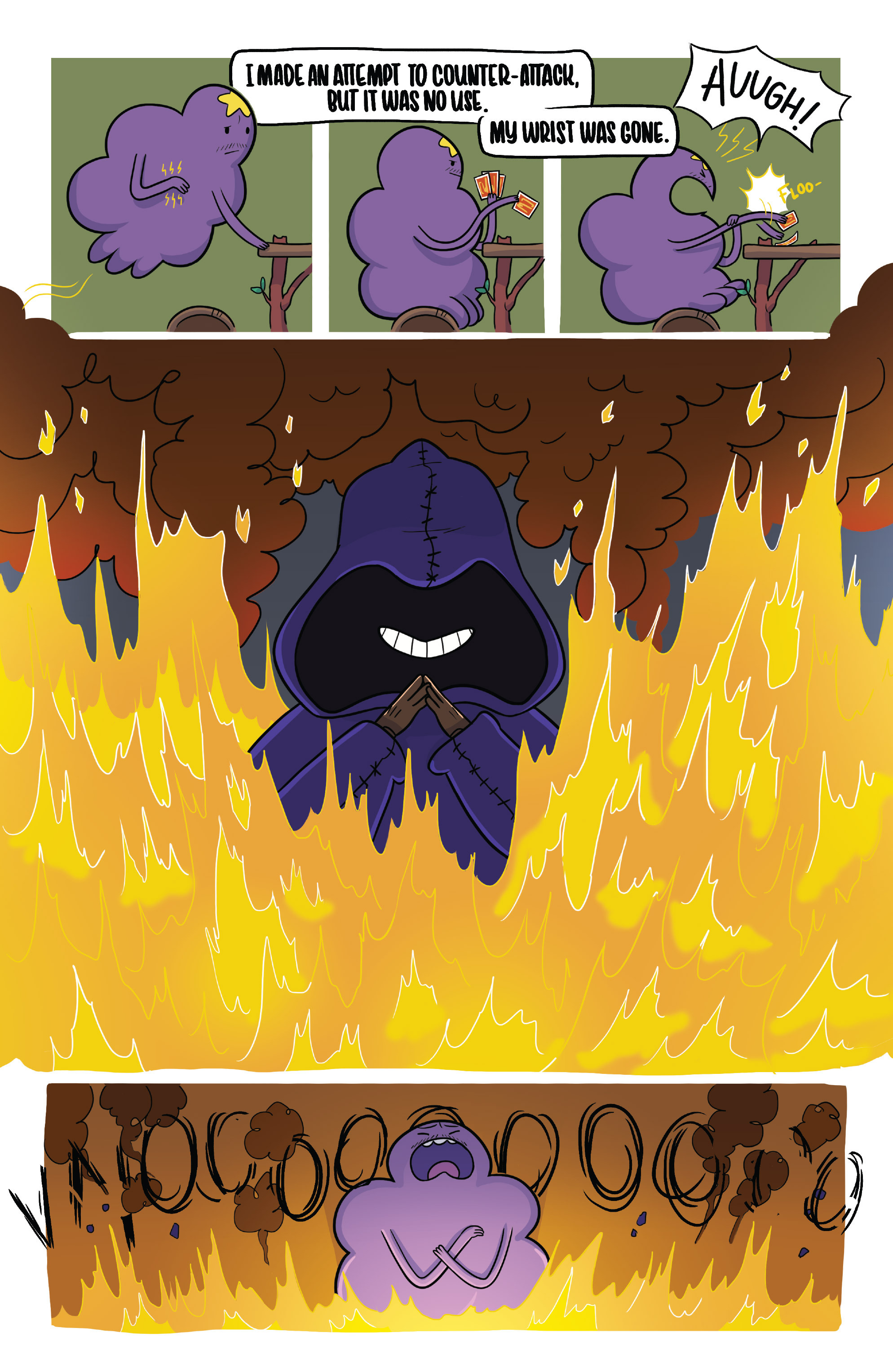 Read online Adventure Time Fionna and Cake Card Wars comic -  Issue #2 - 8
