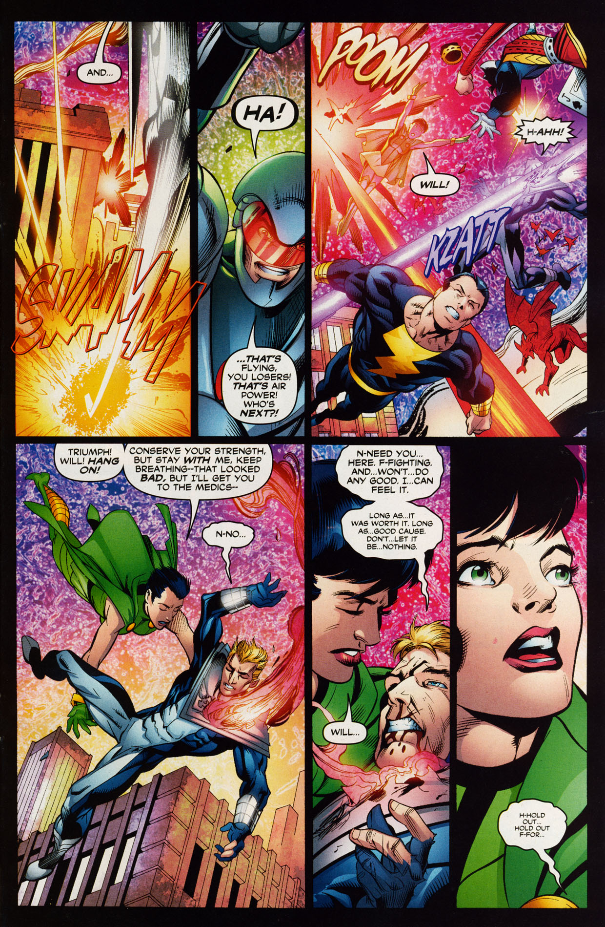 Read online Trinity (2008) comic -  Issue #39 - 32