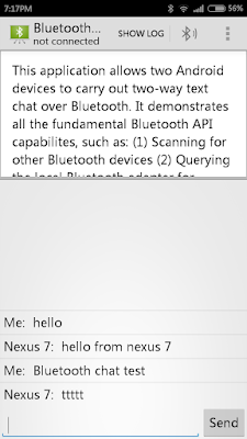 Import Android Code Sample Of Bluetoothchat To Android Studio