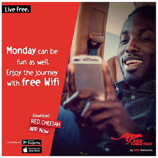 Swift red cheetah free wifi