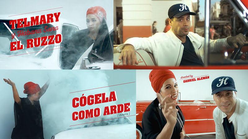 Telmary y El Ruzzo (Orishas) - ¨Cógela como arde¨ - Videoclip - Director: Gabriel Alemán. Portal Del Vídeo Clip Cubano