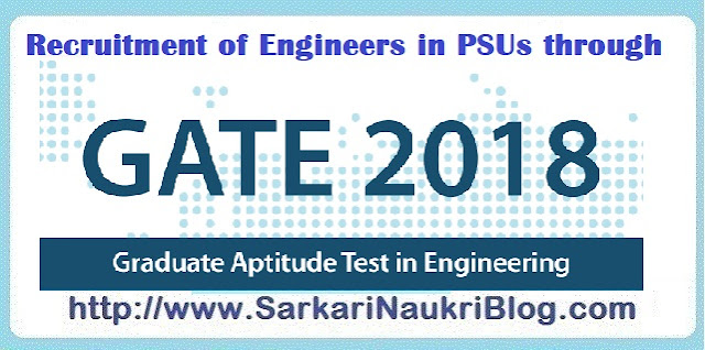 Naukri Vacancy Recruitment  in PSU by GATE 2018