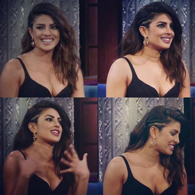 Priyanka Chopra Looking Sexy in Black