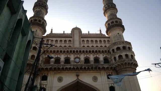 Present Charminar in Hyderabad