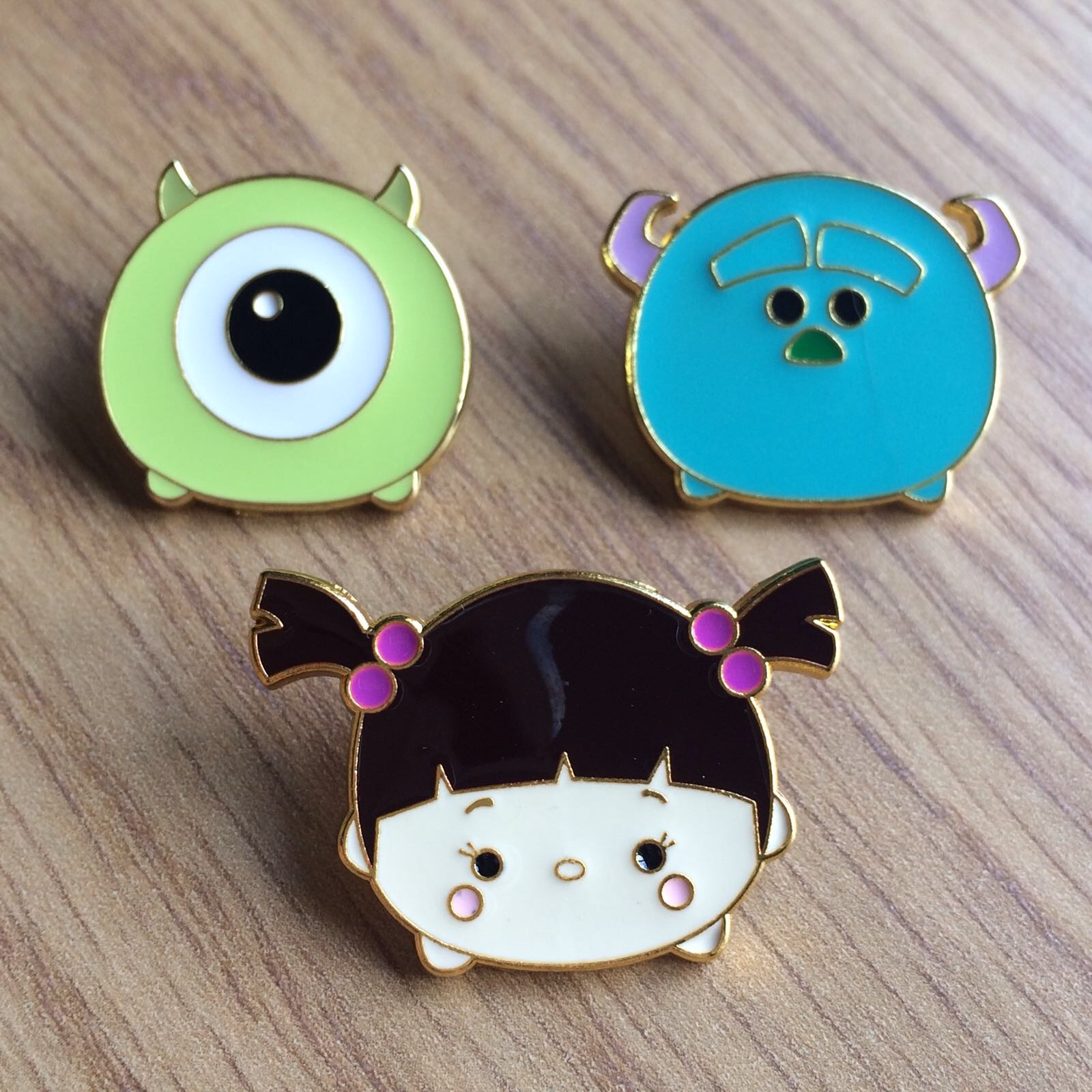 Monsters Inc Tsum Tsum pins