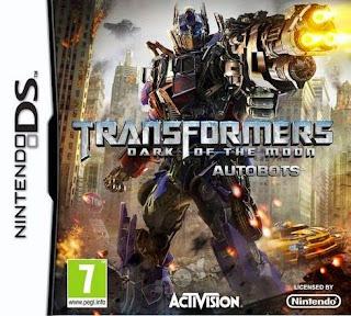 Transformers: El lado oscuro de la luna Autobots, nds, Español