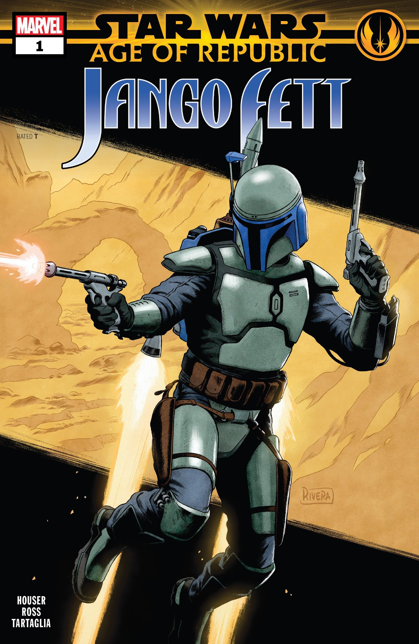 Star Wars: Age of Republic - Jango Fett Full Page 1