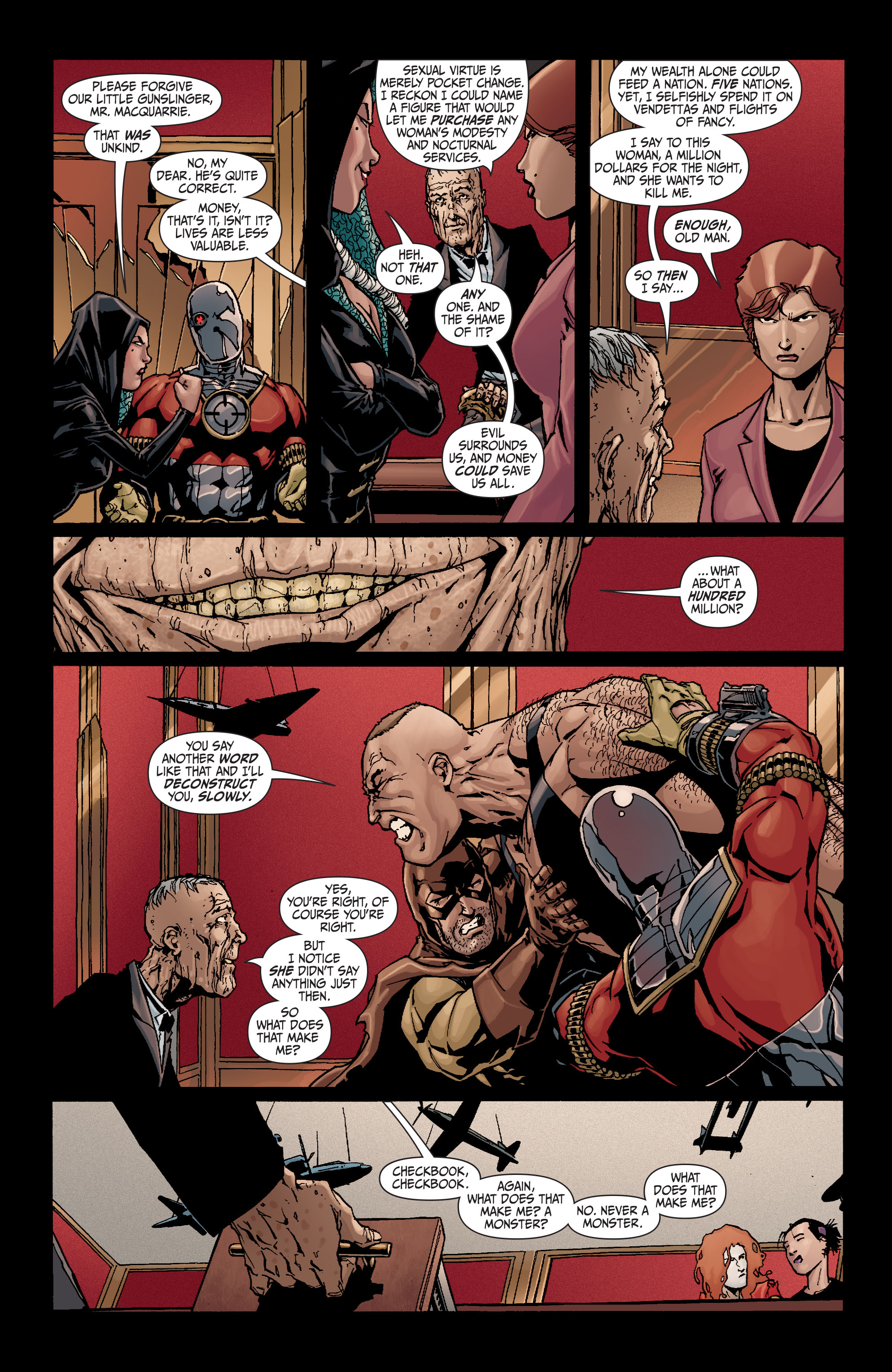 Read online Secret Six (2008) comic -  Issue #19 - 21