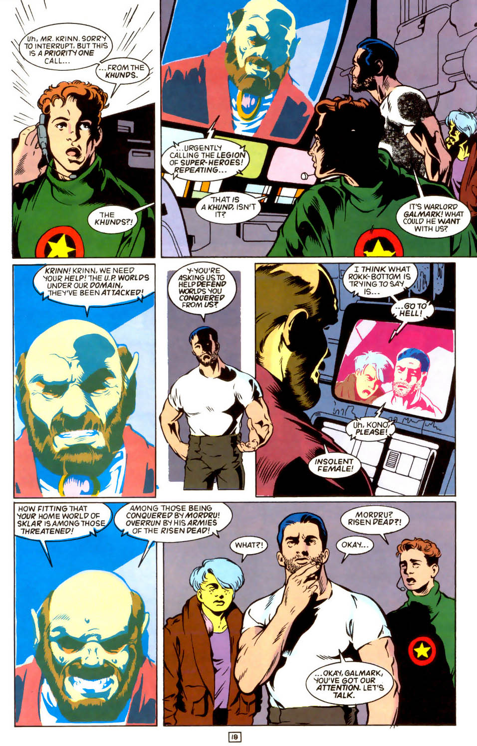 Legion of Super-Heroes (1989) 44 Page 18