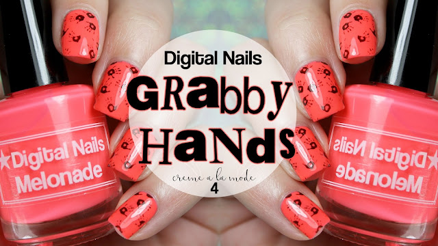 Digital Nails Melonade • Grabby Hands