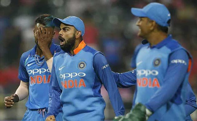 IND vs SA: Virat Kohli gave a blow to a bowler of the South African team, see VIDEO ..