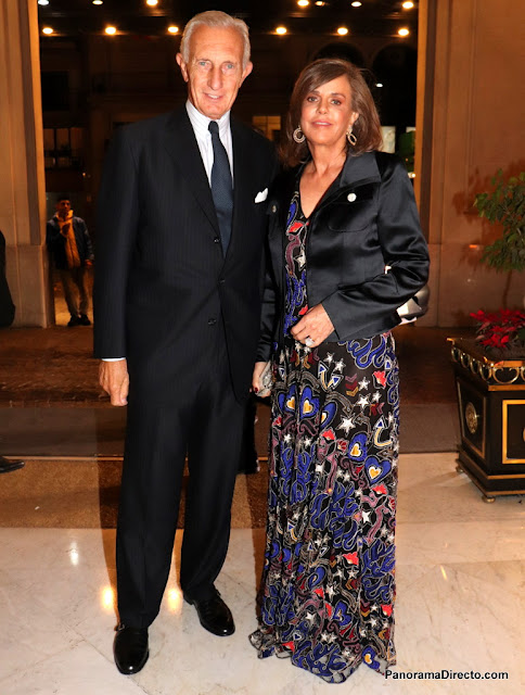 Jorge Neuss y Silvia Saravia el Alvear Palace Hotel