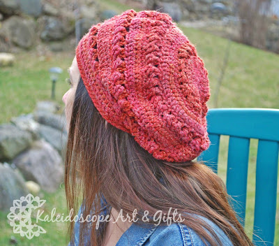 Persephone Slouch Hat~Kaleidoscope Art&Gifts