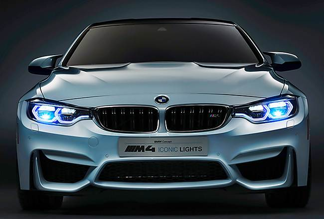 2016 BMW M4 Concept Iconic Lights Review
