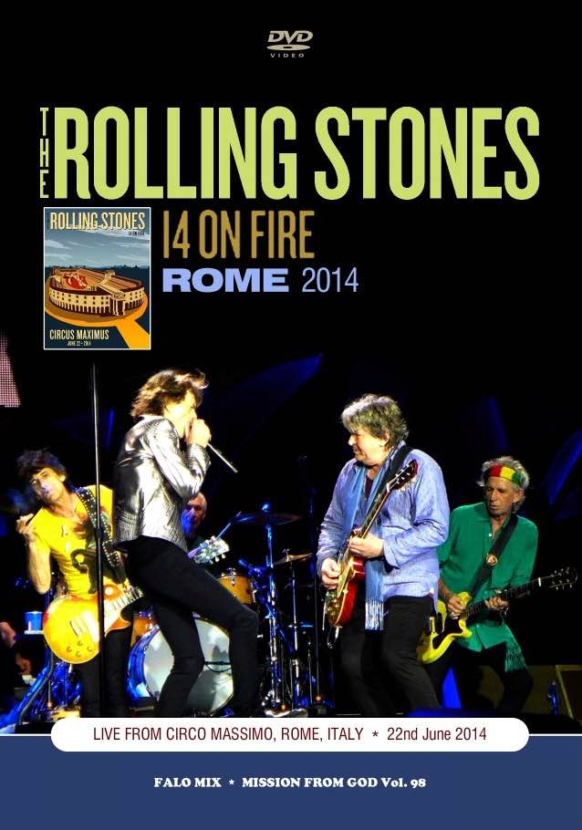 bootleg addiction: Rolling Stones: Rome 2014