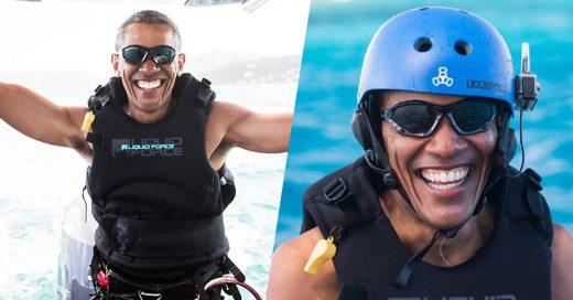 Barack Obama se libera del estrés y sigue de vacaciones