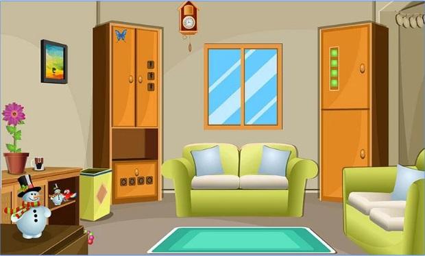 لعبة الهروب من المنزل New Room Escape