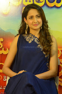 Pragya Jaiswal in beautiful Blue Gown Spicy Latest Pics February 2017 106.JPG