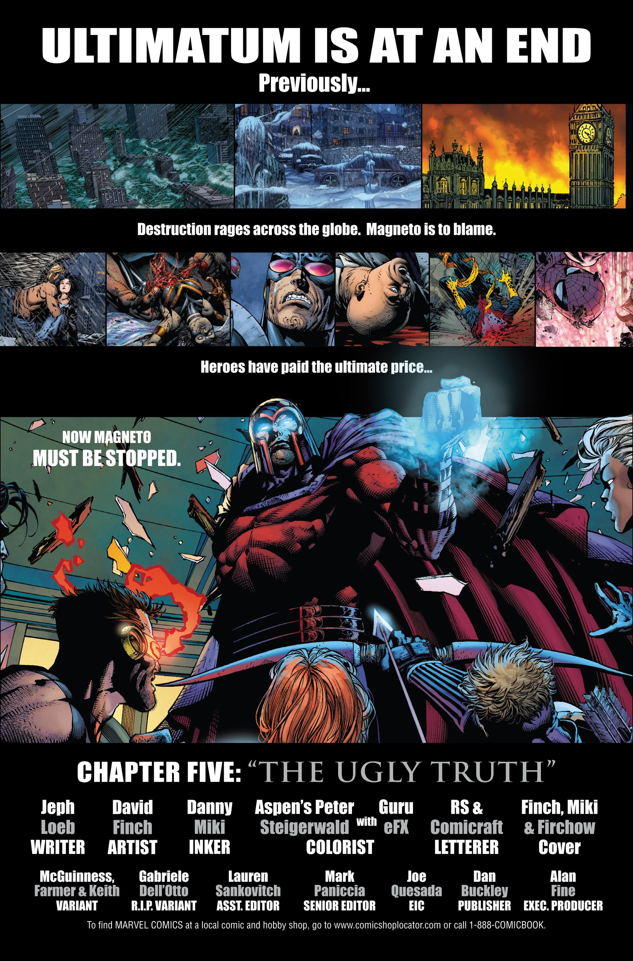 Read online Ultimatum comic -  Issue # _TPB - 95